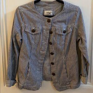 Live a Little | buttoned jacket